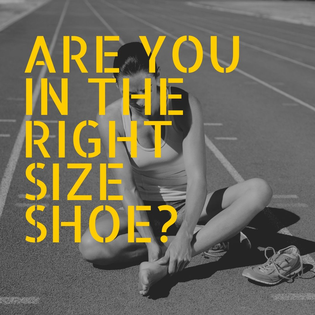 properly fit running shoe