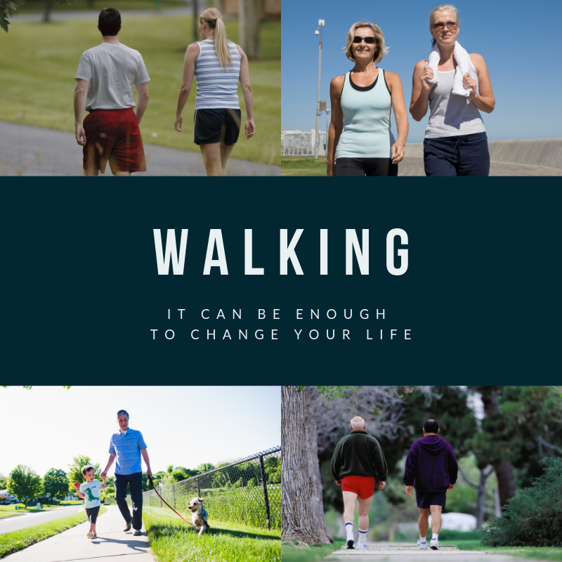 walking can change your life