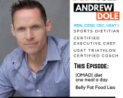 One meal a day (OMAD) diet, intermittent fasting, and belly fat foods