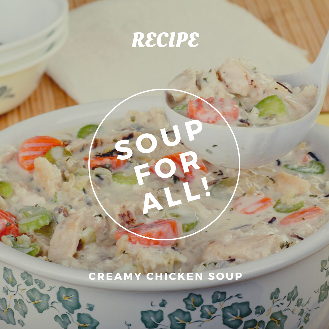 Creamy Chicken Soup For Fall!